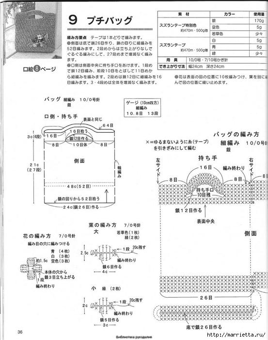 Корзинка и сумки крючком из полиэтиленовых пакетов (33) (553x700, 225Kb)