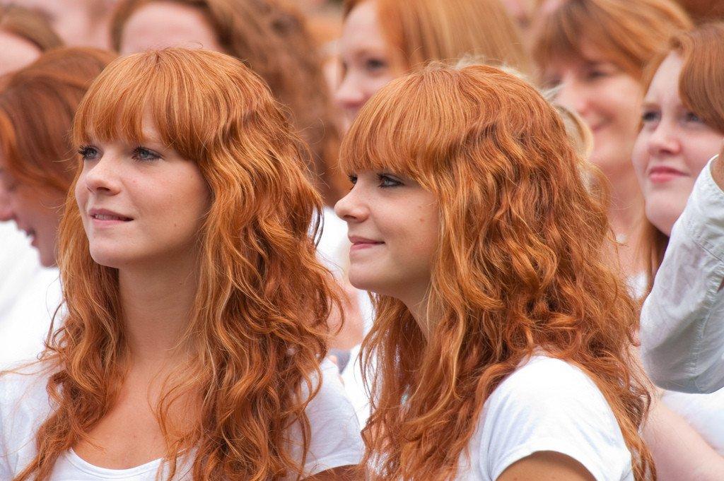 Самые красивые рыжие девушки фото 4 фотография
