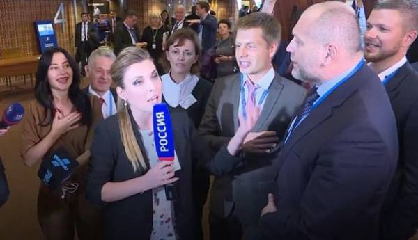 Боевая песня жовто-блакитных дикарей: в ЕС не оценили выходку украинской делегации в ПАСЕ