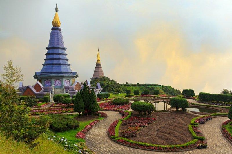 3. Национальный парк Дойинтанон (Таиланд). Гора в провинции Чиангмай. Здесь обитают сотни видов птиц заповедник, заповедники, национальные парки, национальный парк, парки, познавательно, страны мира, туристу на заметку