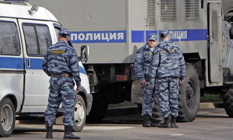 Полицейские в России пожалов…