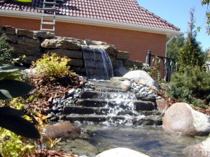 красивые идеи для водопадов