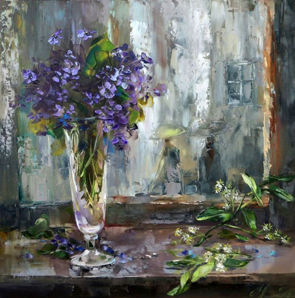 Хрупкая красота, что преображает реальность и радует душу —  нежные цветы Оксаны Кравченко