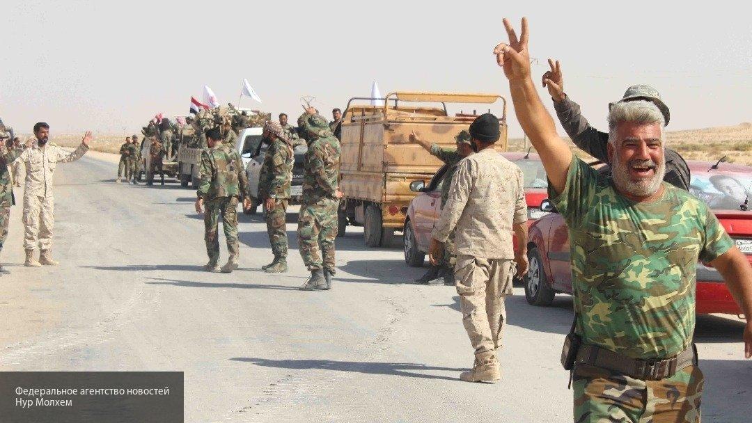 Сирийская армия захватила в Дейр-эз-Зоре оружейный склад боевиков ИГ*