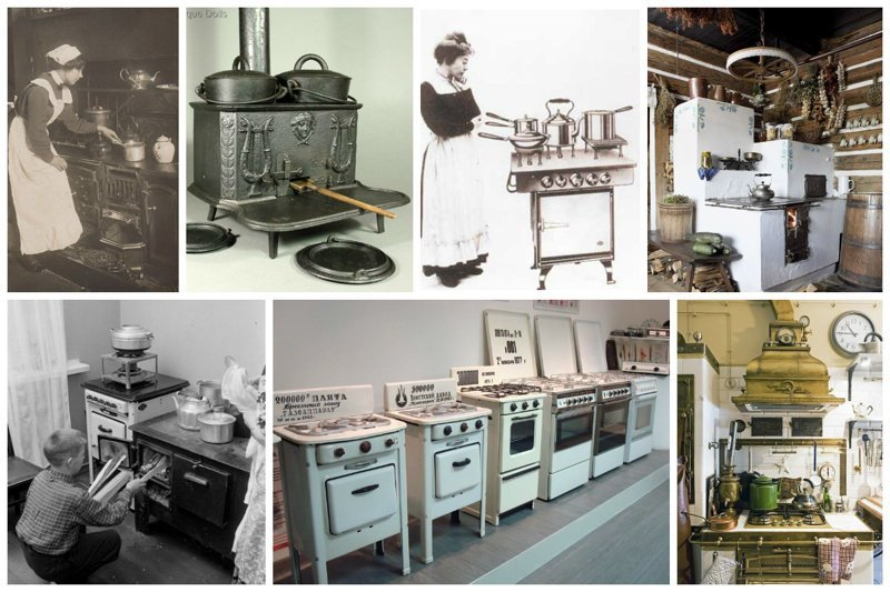 История плиты: Где ваши прабабушки варили кашку для ваших бабушек