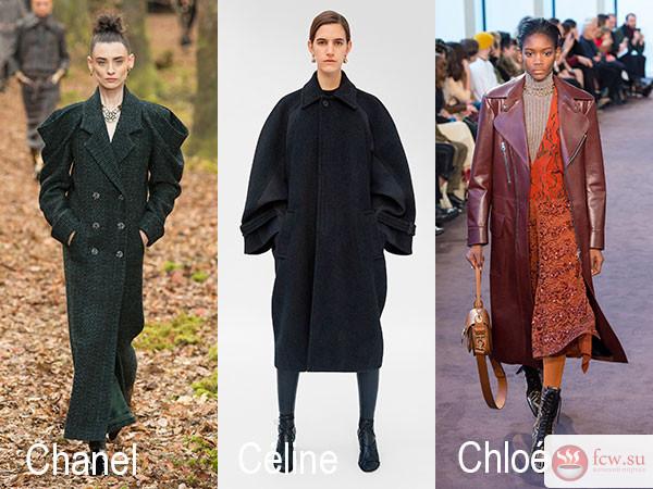 Модные пальто наступившего сезона осень-зима 2018/2019