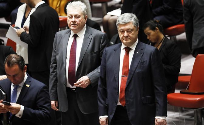 Война в Донбассе: Киев против Минска