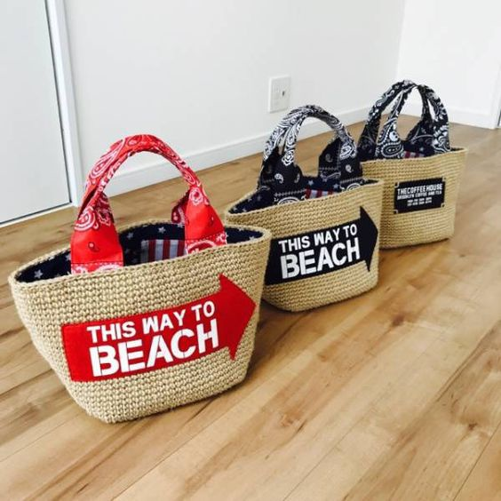 Ручки пляжных сумок 2
