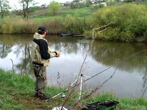 видео рыбалка весной на украине видео