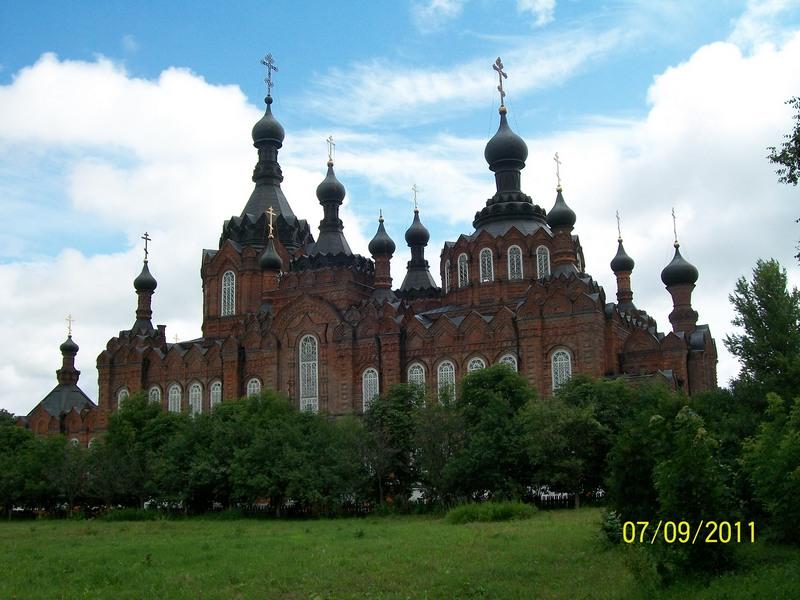 Казанский собор в Шамордино