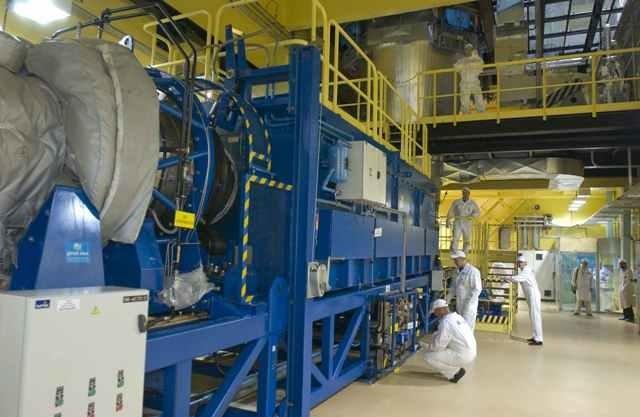 В 2017 году на установке W-ЭХЗ переработан рекордный объем обедненного гексафторида урана