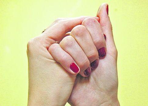 Йога для пальцев: «корова» п…