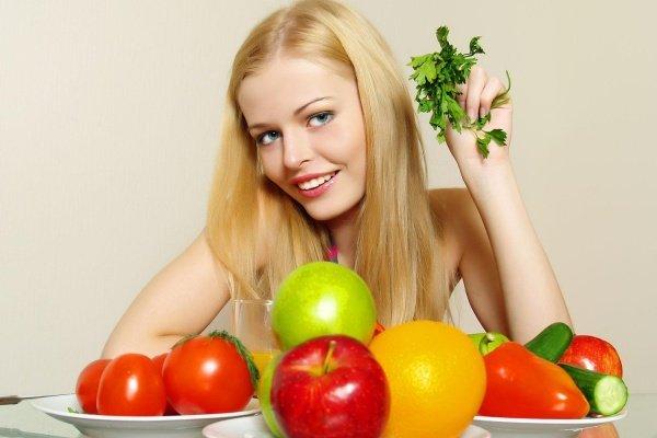 Фруктово-ягодно-овощная диета для похудения