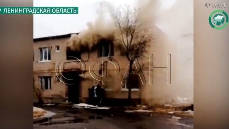 Появилось видео пожара в жил…