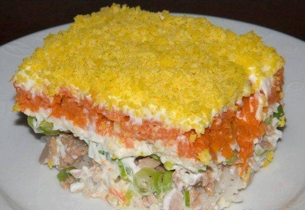 Правильный рецепт салата «Мимоза» — вкуснятина.