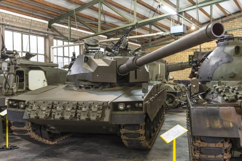 Основной боевой танк Panzer 68 Erprobungsträger (Швейцария)