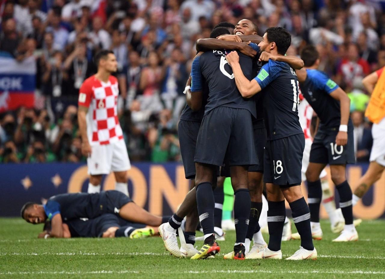 Франция второй раз в истории…
