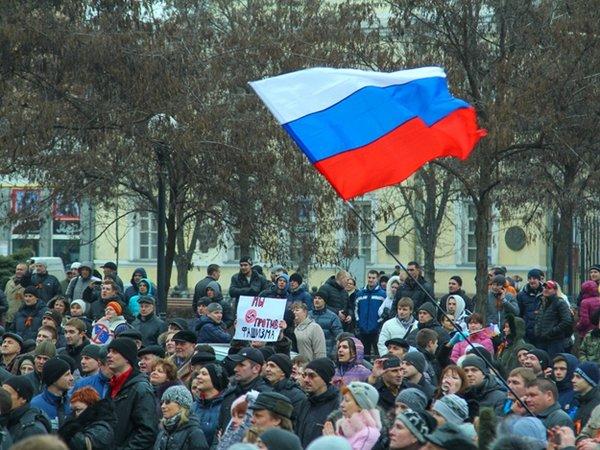 Мятеж на границе с Крымом