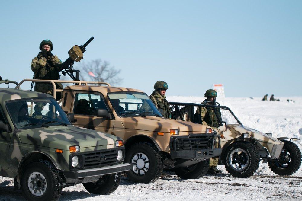 Тольяттинцы показали спецавтомобили на базе «Нивы» и багги «УРА»