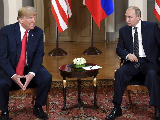 Владимир Путин: Я хотел, чтобы Трамп стал президентом США