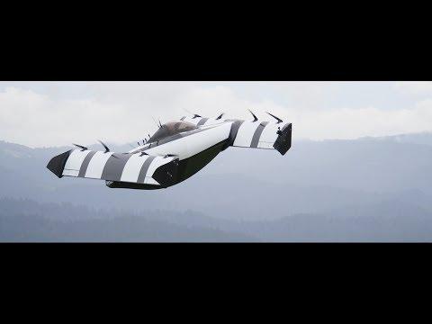 Сеть взбудоражило видео испытаний «летающего автомобиля» BlackFly