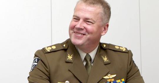 Командир эстонского спецназа…