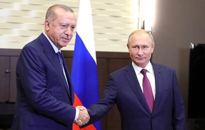 Западные СМИ обсуждают итоги переговоров Путина и Эрдогана