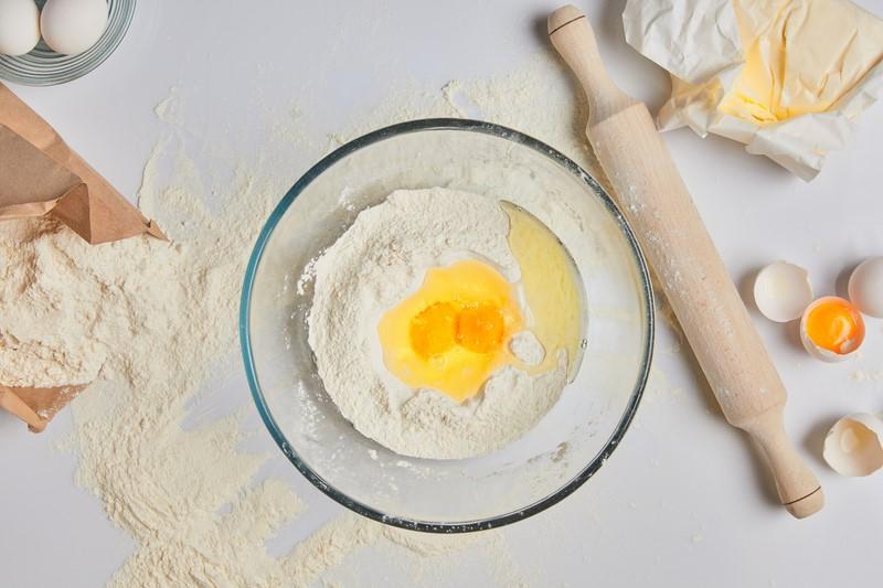 пирог с кремом из манки