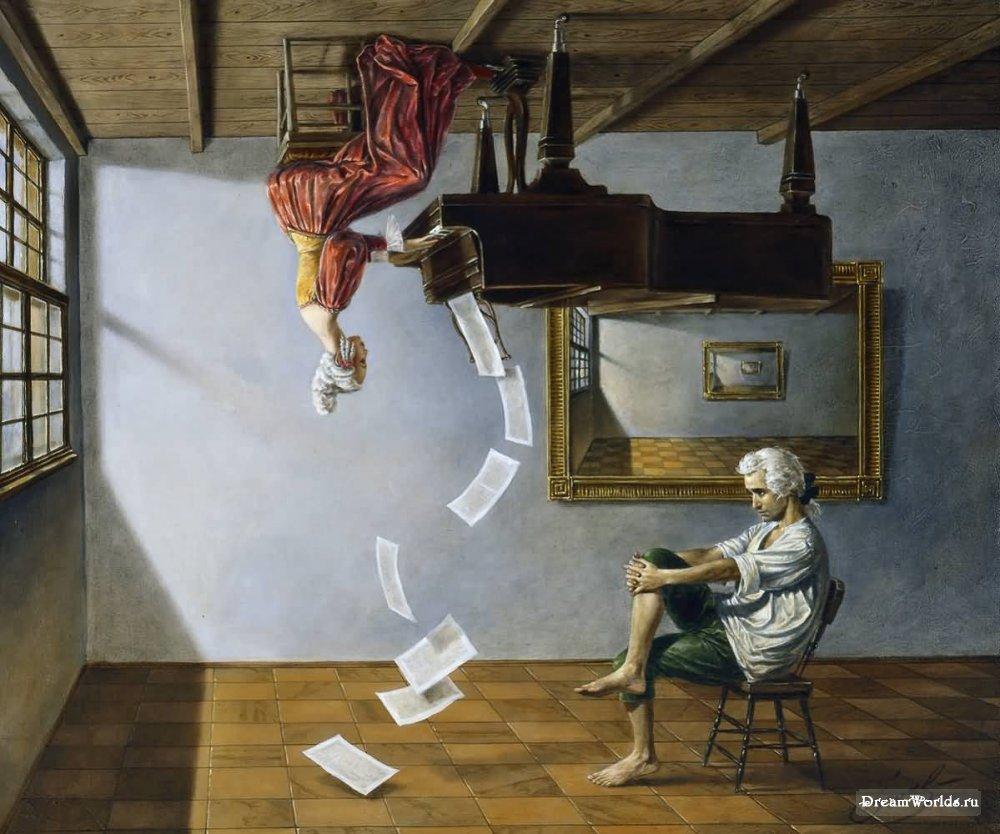 Михаил Хохлачев - художник абсурдист абсурд, искусство