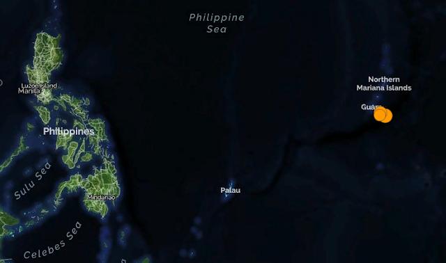 Гуам. Землетрясение магнитудой 6