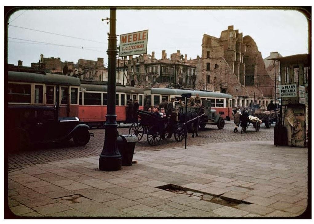 Варшава в августе 1947-го