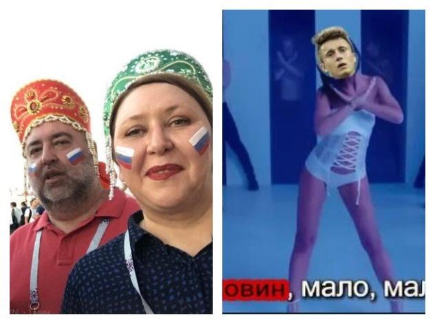 Салюты, визги, крики: как россияне болели за наших на матче Россия - Хорватия