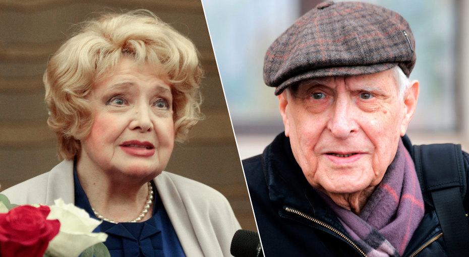 Отчего развалился брак Татьяны Дорониной и Олега Басилашвили