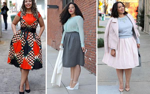 Как стильно одеться полным девушкам: красивые варианты для лета 2018