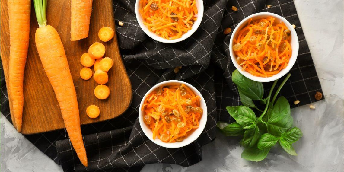 15 интересных салатов из моркови