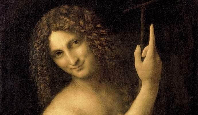 На полотне да Винчи нашли скрытое изображение пришельца
