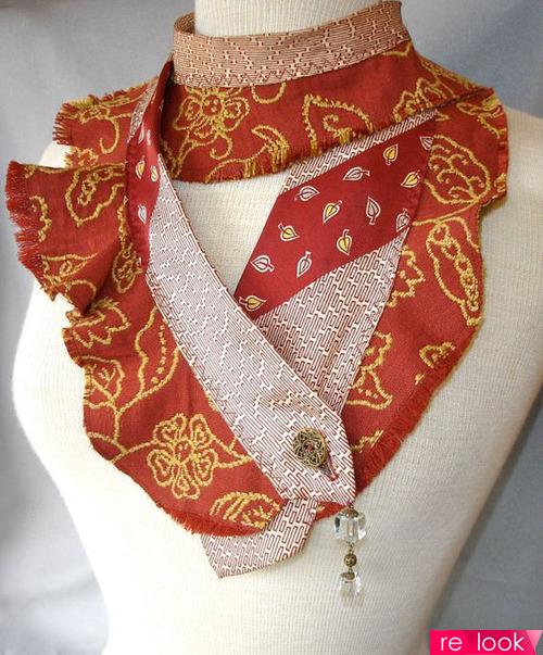 модный женский галстук