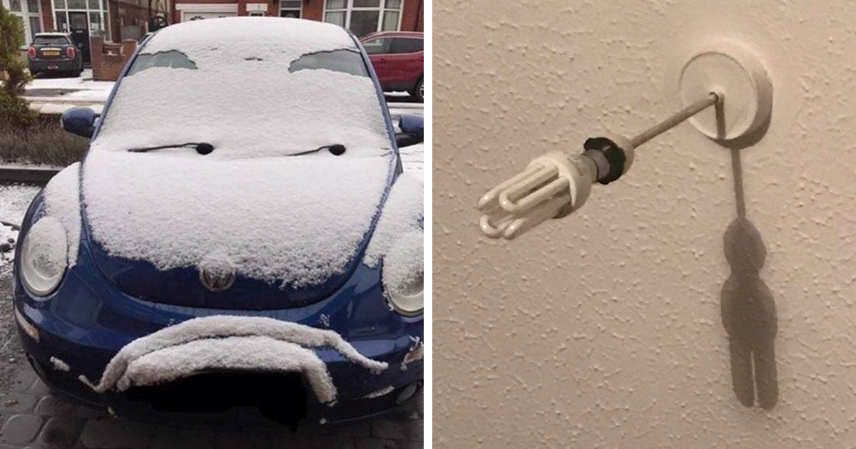 125 Funny Examples Of Pareidolia In Everyday Objects