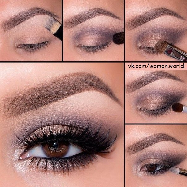 Универсальный макияж для любого цвета глаз