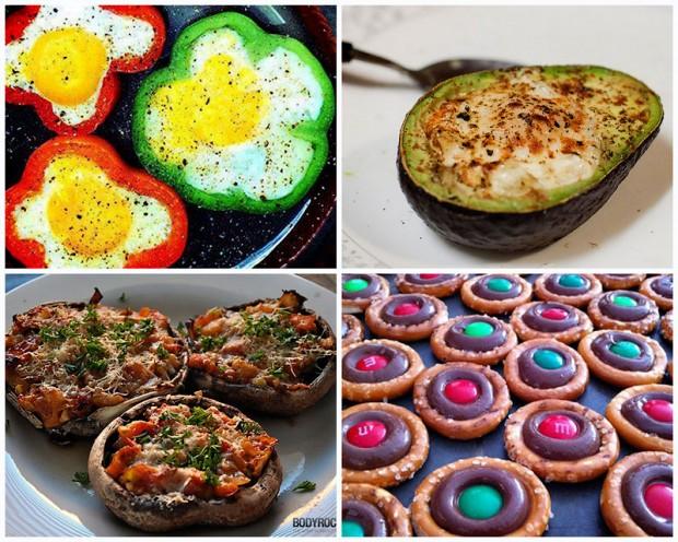 Вкусные блюда приготовленные внутри других продуктов (подборка фото)