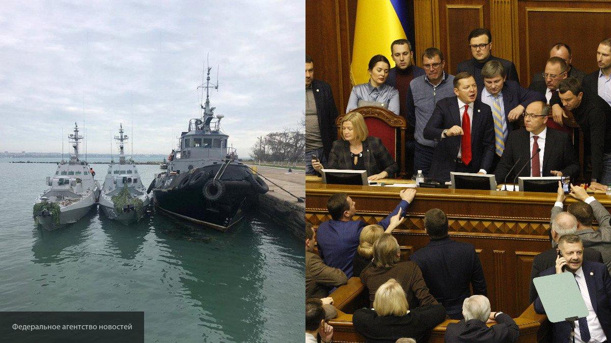 По указке Вашингтона: Порошенко объявил о военном положении в угоду Западу