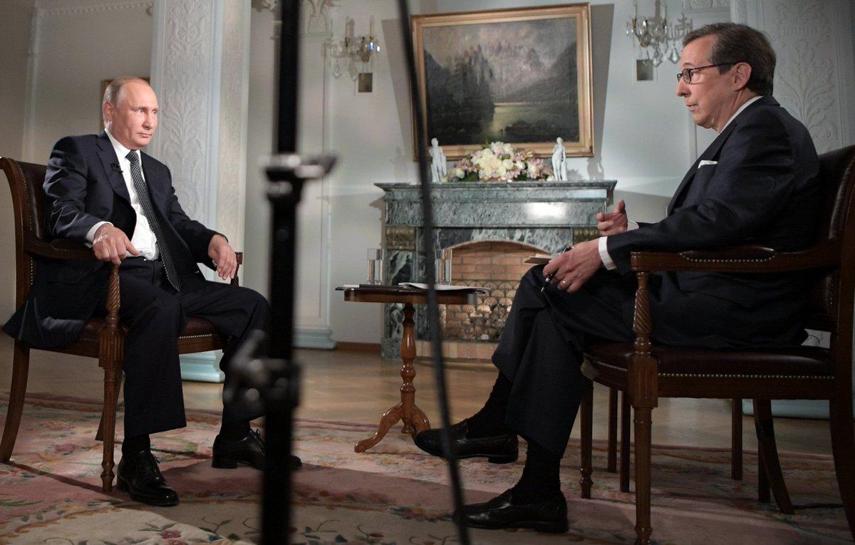 Путин. Интервью американскому телеканалу Fox News