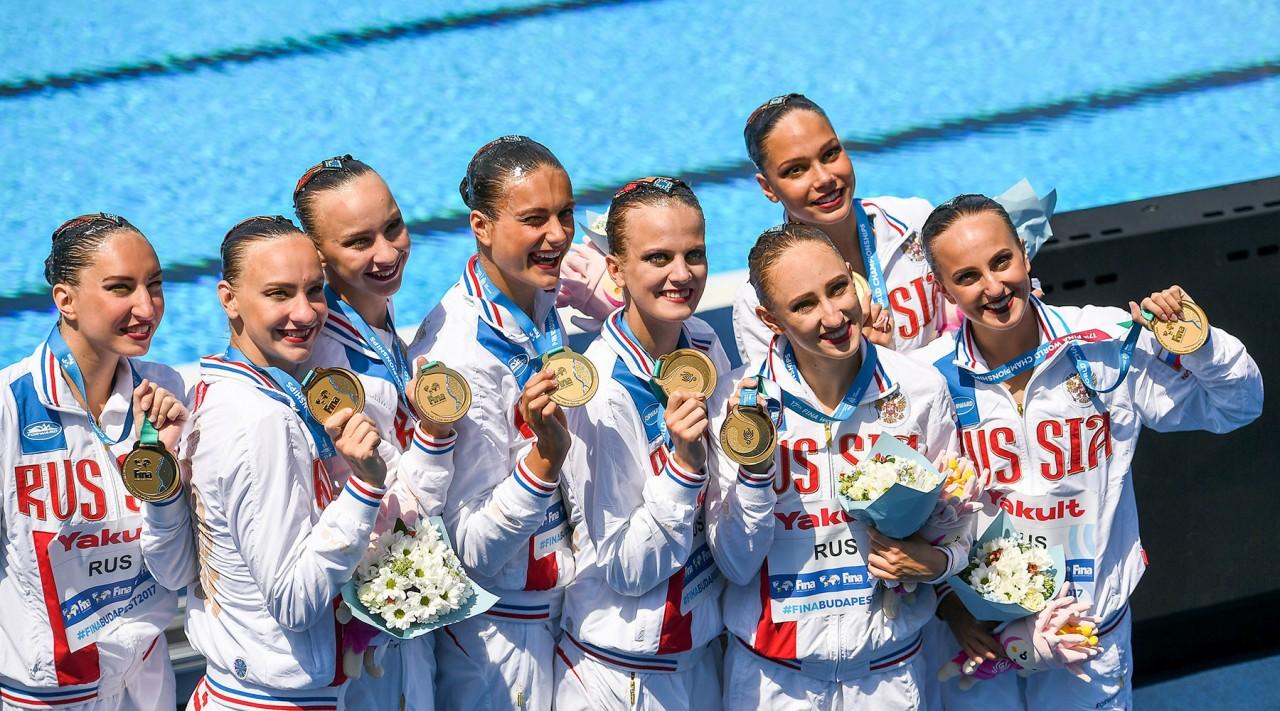 «Мы всегда должны быть на три головы выше остальных»: тренер российских синхронисток о триумфе на чемпионате мира