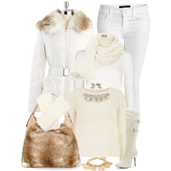В ожидании снега: 10 белоснежных зимних look`ов