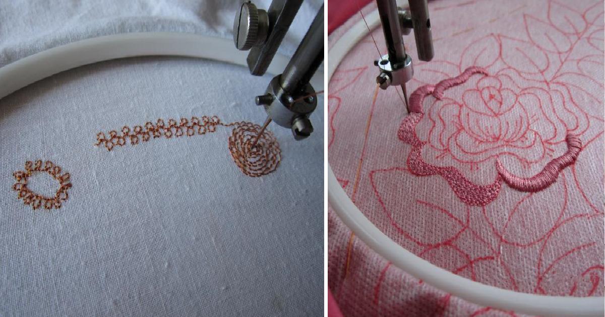 Скорее всего, ваша швейная машинка тоже умеет это делать