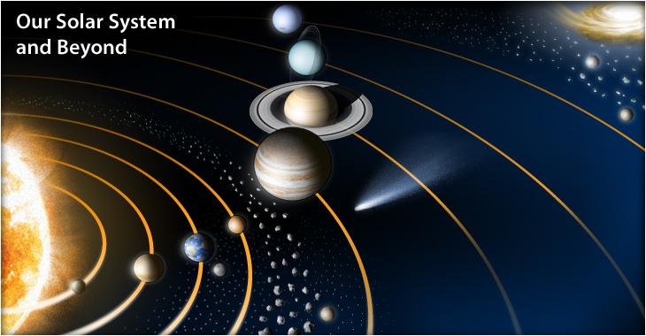 Почему планеты солнечной системы движутся в одной плоскости?