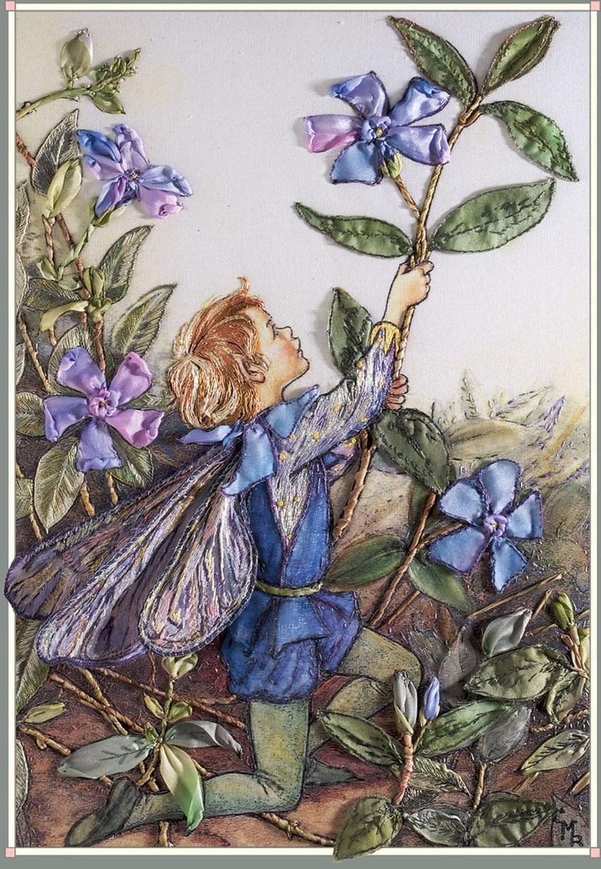 Волшебная страна эльфов и цветов
