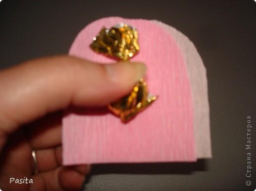Мастер-класс, Свит-дизайн Моделирование: Бутон розы МК Бумага гофрированная. Фото 4