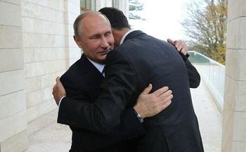 Путин провел переговоры с Асадом в своей резиденции в Сочи