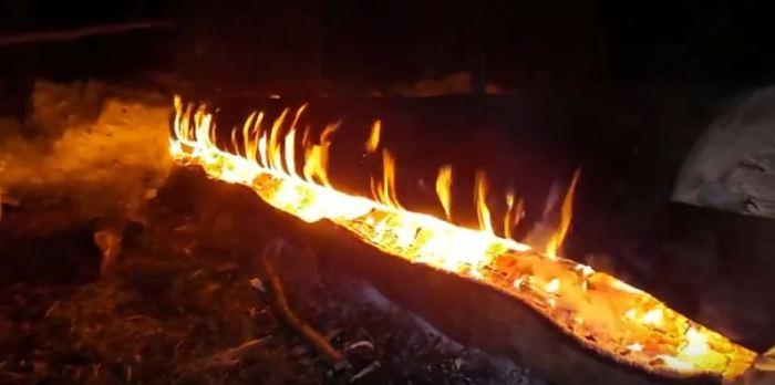 Нодья - костер длительного горения